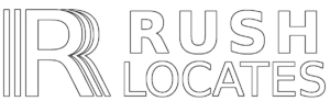logo for RUSH Locates